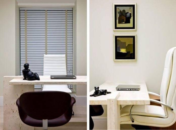 mesa do consultório