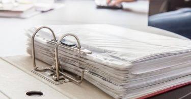 burocracia no trabalho